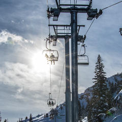 Summit Express at Solitude - ©Solitude Mountain Resort