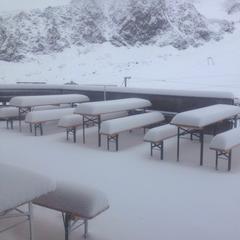 14. Juli 2016: Neuschnee in den Alpen - ©Kaunertaler Gletscher