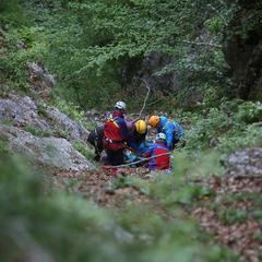 Bergretter im Einsatz - ©Bergwacht Reichenhall