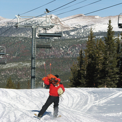 Winter Park CO ski patrol
