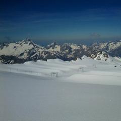 Alpenpanorama im französischen Skigebiet Les 2 Alpes - ©Les 2 Alpes
