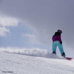 Snowboarden in Mayrhofen - ©Gesa Temmen