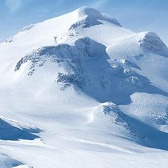 Tignes Gletscher