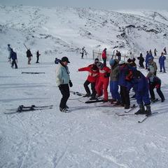 Ski school, Glenshee