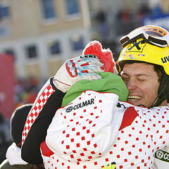 Janica und Ivica Kostelic: Geteilte Freude ist doppelte Freude - ©Alexis BOICHARD/AGENCE ZOOM