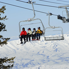 Bogus Basin chairlift (Kirk Keogh)