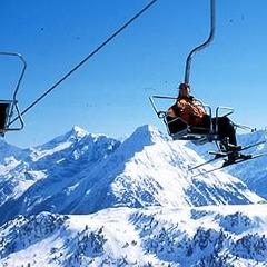 Skifahrer auf Sessellift - ©Hruschka / Zillertal