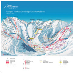 Andermatt, plans