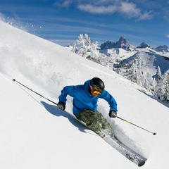 Early Season Skiing at Grand Targhee