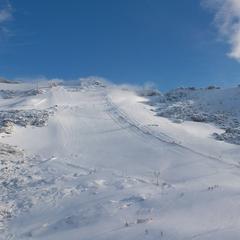 Neuschnee Mölltaler Gletscher - ©Mölltaler Gletscher