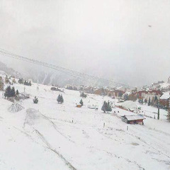 Snowfall in Les 2 Alpes Oct. 27th