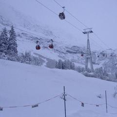 Stubai Glacier with 55cm of snow Oct. 28