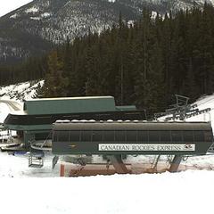 Early season snow is building at Marmot Basin. Photo courtesy of Marmot Basin webcam.