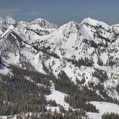 Brighton Resort in Big Cottonwood Canyon, Utah