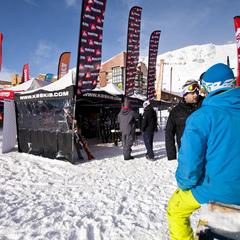Chaque saison, les principales marques de ski participent à des journées de test vous permettant de chausser gratuitement leurs nouveaux modèles - ©C.Cattin  - OT Val Thorens