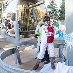 Vail Mountain kicked off their 50th Anniversary celebration on Friday with the dedication of their new gondola, 