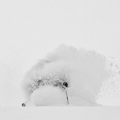 Deep snow at Irwin, CO