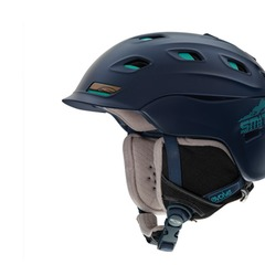 Smith Vantage Helmet—Smith's Vantage helmet features AirEvac2 Ventilation technology, an integrated system of vents and channels that removes warm, humid air from the goggle chamber while cycling cool, dry air in its place. Separate Climate Control zones  - ©Smith