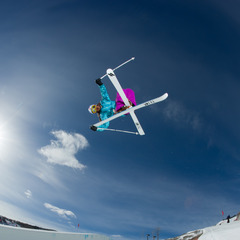 Skier, Park City, Utah.
