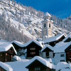 Bosco Gurin 1503m a Walser village in the Tessin.