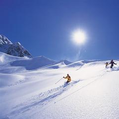 Lech Tiefschneefahren, von der Skischule Lech