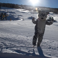 Ski Granby Ranch mascot. - ©Ski Granby Ranch