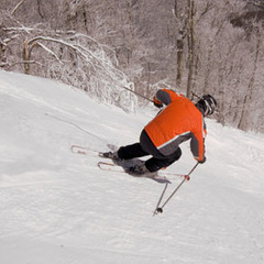 Sugar Mountain lodging packages mean quick access to the snow. Photo Courtesy of Sugar Mountain Ski Area.