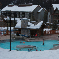 Pools at Panorama Springs Lodge. Photo by Becky Lomax.