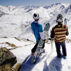 Point neige dans les Pyrénées (18/04/2013)