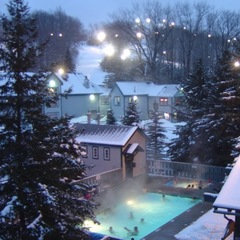 The Pool at Caberfae. - ©Caberfae Peaks