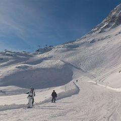 Neuschnee Landschaft Mölltaler Gletscher - ©Mölltaler Gletscherbahnen GmbH & Co KG