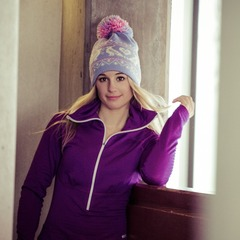 Always looking for new opportunities, Caroline has a small pop up shop called C Wild located inside of Unhinged in Sugarhouse, Salt Lake City. She stocks it with merchandise she finds during her travels. Like the beanie she's wearing here which was picked