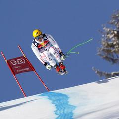 Georg Streitberger landete auf Rang acht - ©Agence Zoom / Alexis Boichard