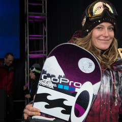 Jamie Anderson.