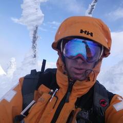 Ski patroller, Steve Ruskay