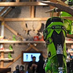 focus on K2's Pinnacle 130 boot - ©Skiinfo