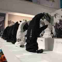 gloves at Scott stand at ISPO Munich 2013