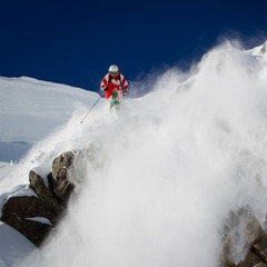 Squaw Valley was picked as the Best Terrain in the Far West Region in 2012 by our fans, this photo illustrates why.