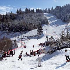 Skiing at Gerardmer