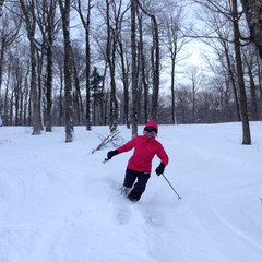 The snow is good at Stratton Resort in Southern Vermont.