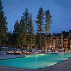The pool at the Constellation Residences at Northstar, Lake Tahoe, is a favorite attraction with kids and their families.  - ©Constellation Residences