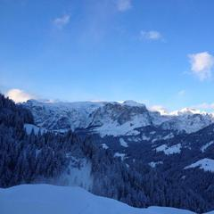 Alta Badia, Italy. Feb. 25, 2013