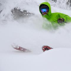 Spring conditions are all time right now at Stratton. Photo taken March 8, 2013. Photo Courtesy of Stratton Mountain Resort.