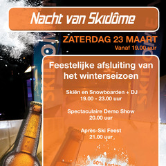 End-of-season party at Skidôme in Holland