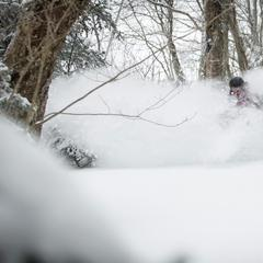 The snow at Killington is deep, thanks to Winter Storm Ukko.