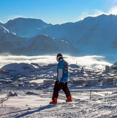 A l'Alpe d'Huez comme partout ailleurs sur les Alpes et les Pyrénées, les conditions de ski sont excellentes