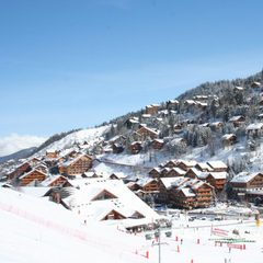 20cm in Meribel, March 21, 2013