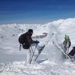 Val Thorens powder, March 19th, 2013