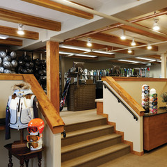 Gorsuch Ski Concierge, lower level, rental and retail area at the Four Seasons Vail.