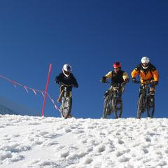 Cervinia Snow Bike